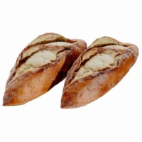 6.5 Inch Mini Fake French Baguette (2 Per/Bag)
