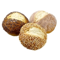 3 Inch Faux Dinner Roll (3 Per/Bag)