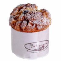 3.5 Inch H x 3 Inch D Sugared Fake Muffin with Berries