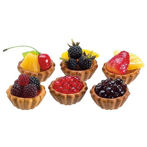 Berry Fruit Faux Tarts (6 Per/Box)