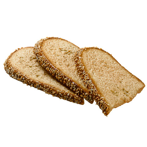 6.5 Inch Sliced Fake Bread (3 Per/Bag)