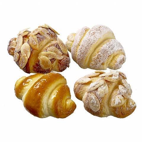3 Inch Mini Fake Croissant (4 Per/Bag)
