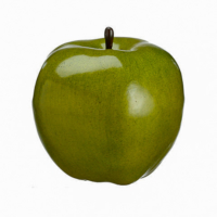 5.5 Inch Faux Apple Green