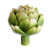 2.25 Inch H Fake Artichoke Green