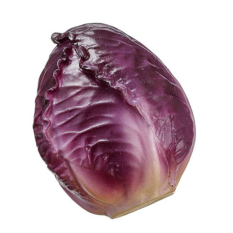 2.75 Inch Artificial Cabbage Purple