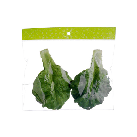 Faux Lettuce Leaf (6 Per/Bag)