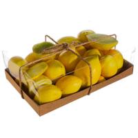 Assorted Faux Lemon (34 Per/Box)
