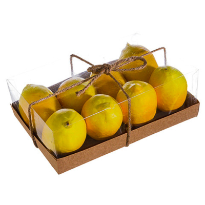 Artificial Lemon Assortment (8 Per/Box)