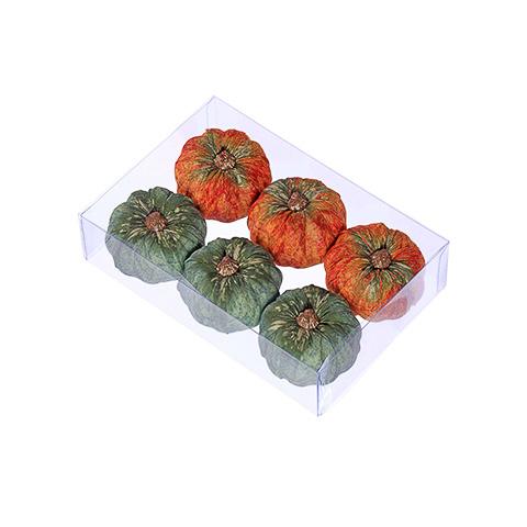 Assorted Faux Pumpkin (6 Per/Box)