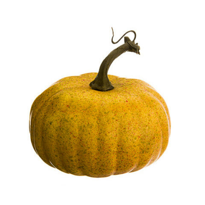 5.5 Inch Artificial Pumpkin Butterscotch