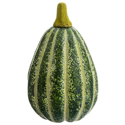 5.25 Inch Faux Pumpkin Green