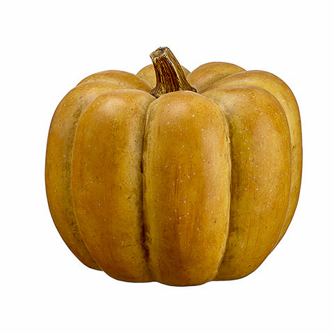 11.5 Inch Artificial Pumpkin Tan