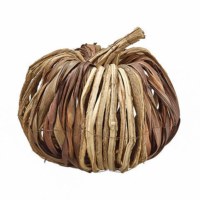 12 Inch Decorative Pumpkin