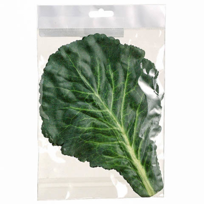 11 Inch Silk Cabbage Leaf (5 Per/Bag)