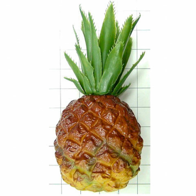 8 Inch Soft Plastic Artificial Pineapple Natural