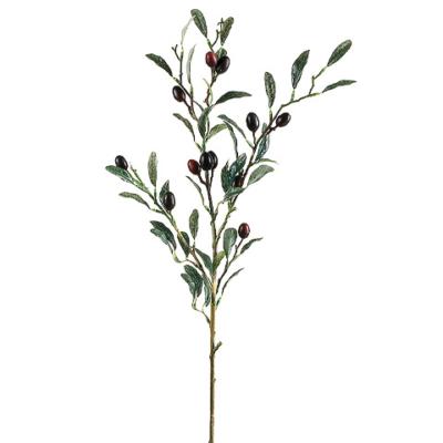 30 Inch Olive Spray Burgundy Black
